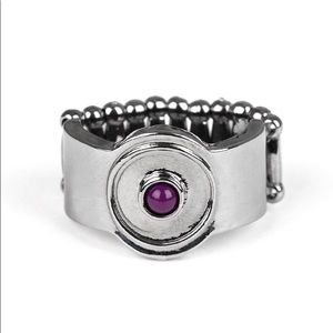 Can't BEAD That! Purple Ring